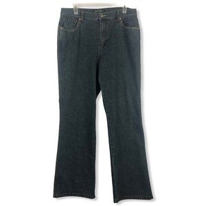 French Cuff Midrise Bootcut Jeans